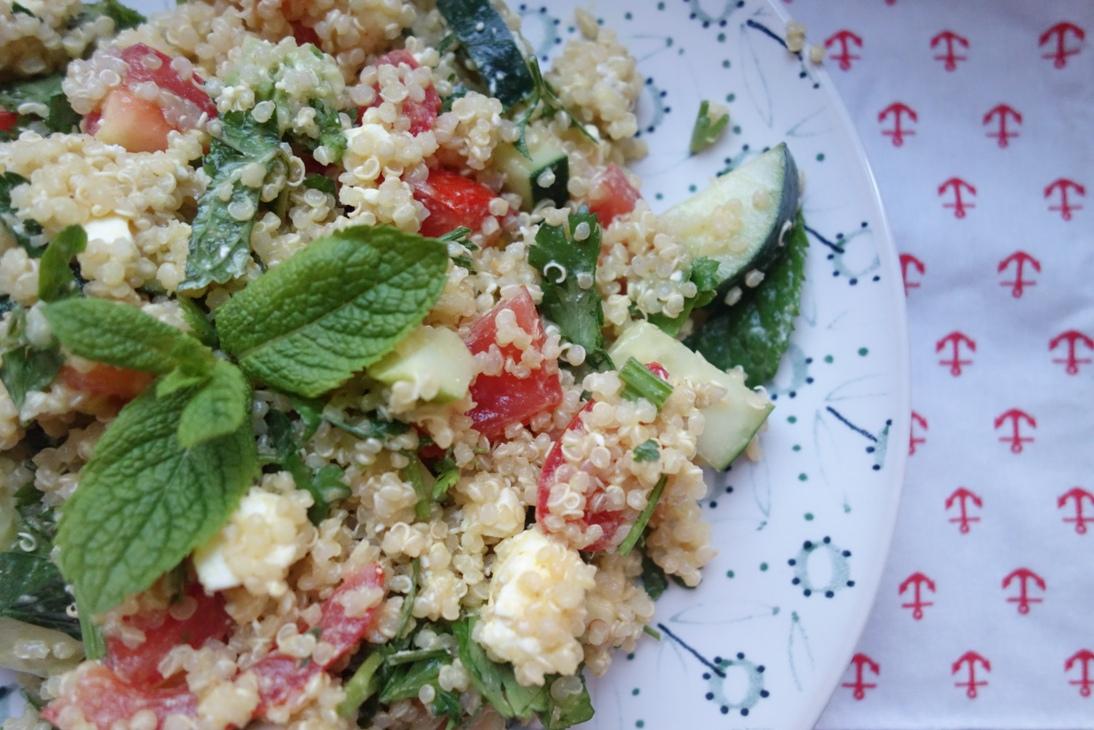 Ready to eat Quinoa Salad