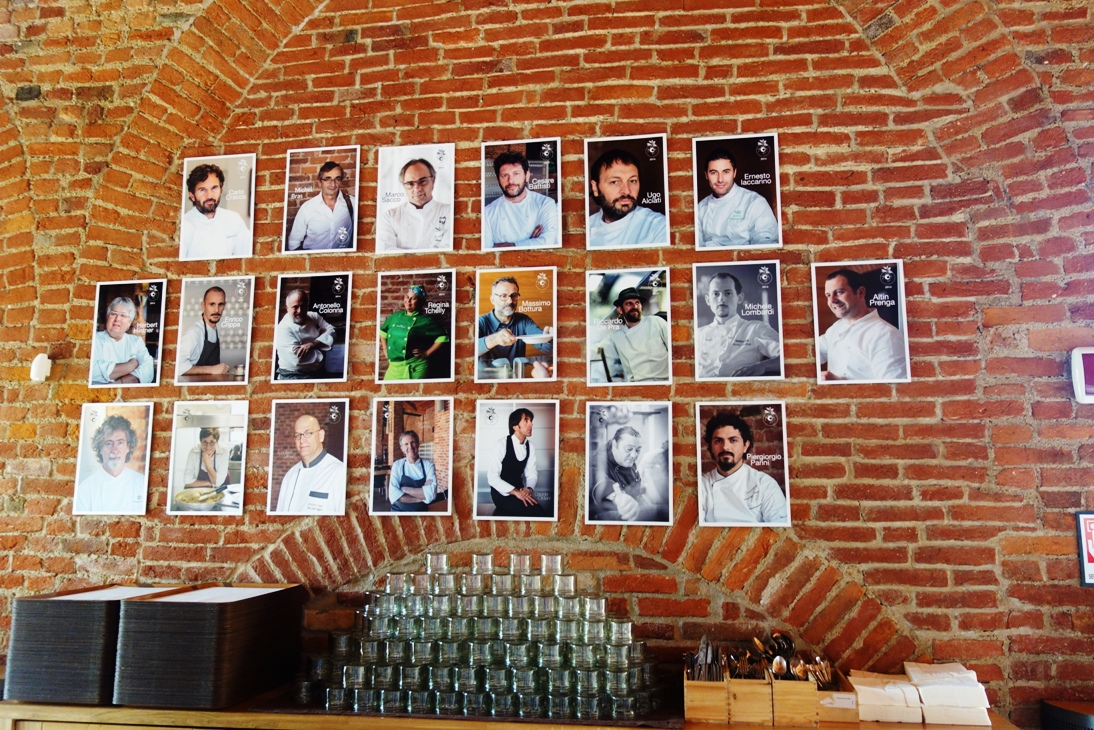 Cook pictures at UNISG
