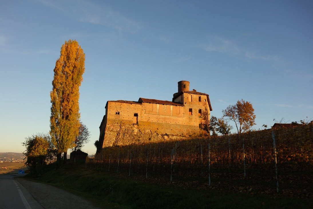 Old fortress in Piedmont
