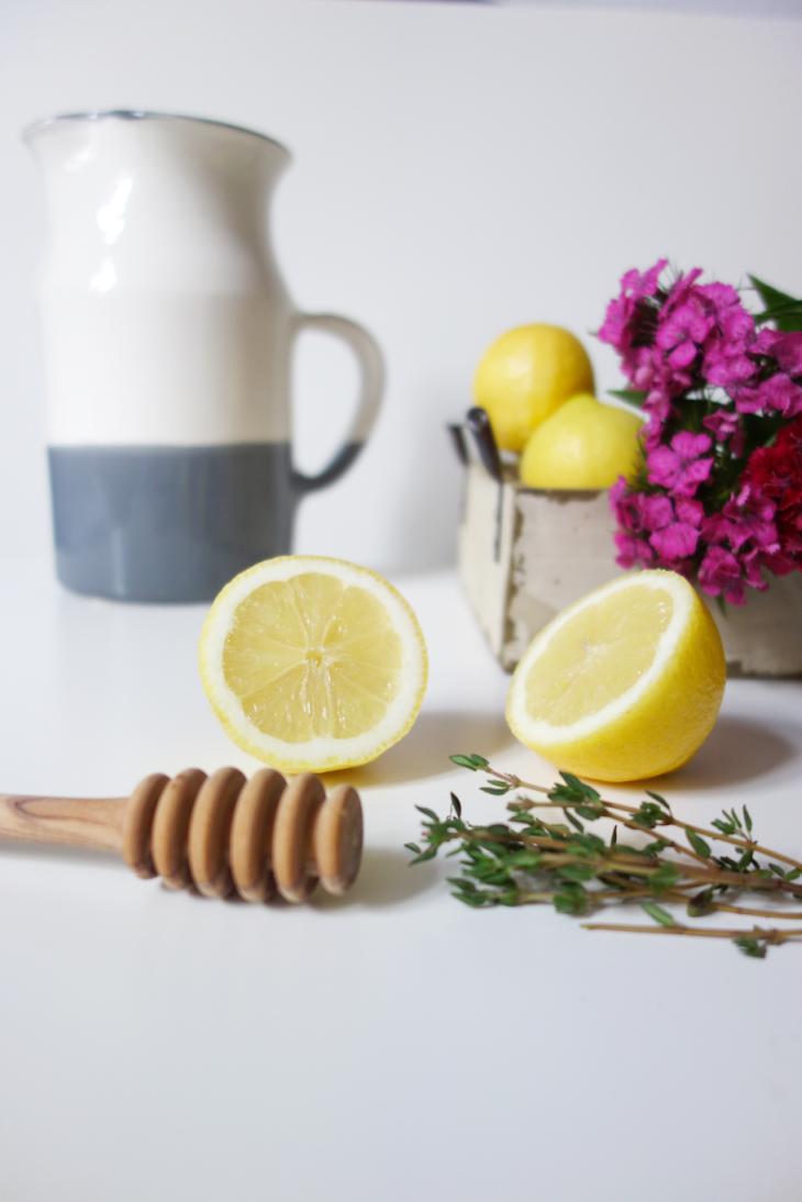 Lemons for Thyme Lemonade vertical