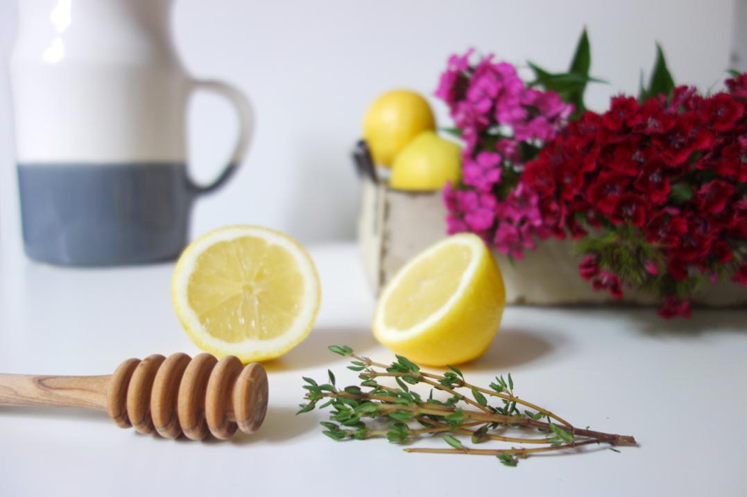 Lemons for Thyme Lemonade