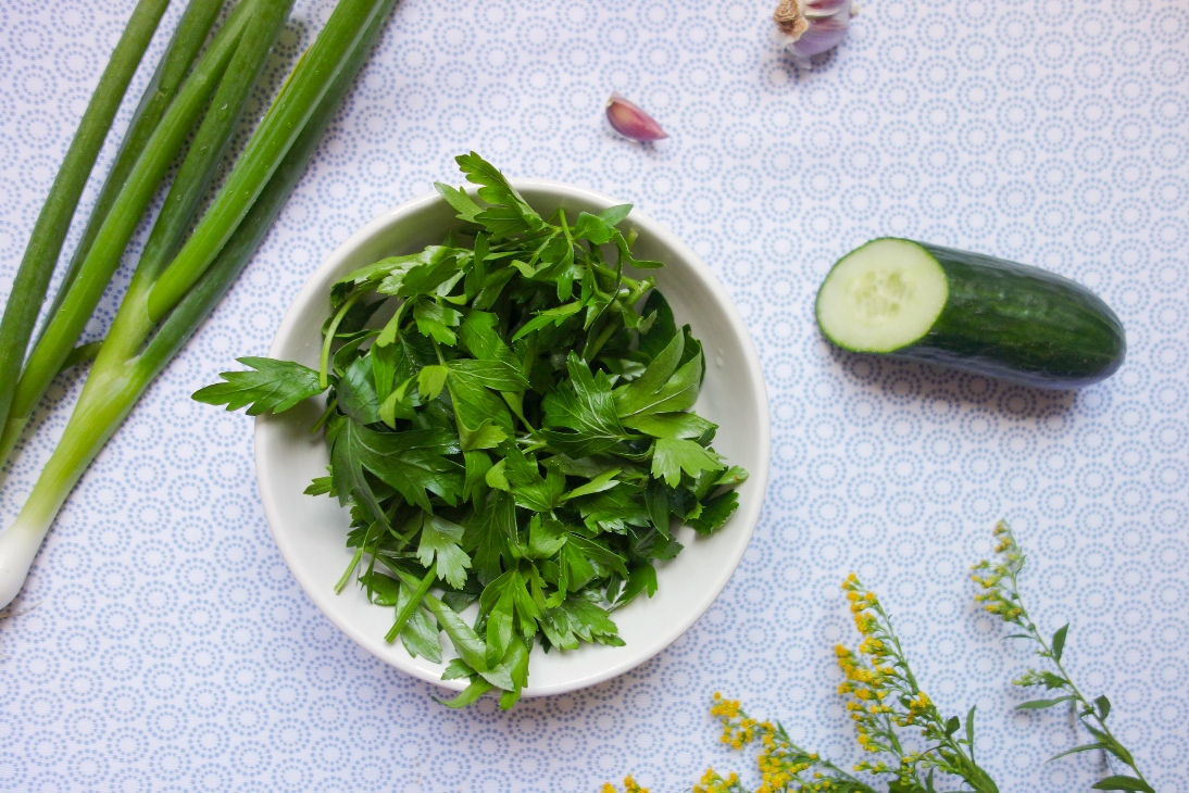 Ingredients for Parsley Soup