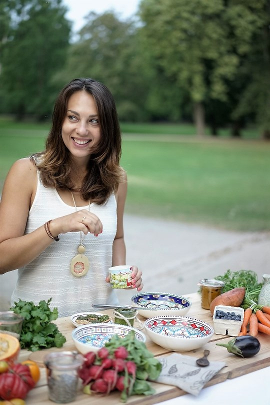 This is an image of Marijana, the founder of Merry Green, it's her about picture.